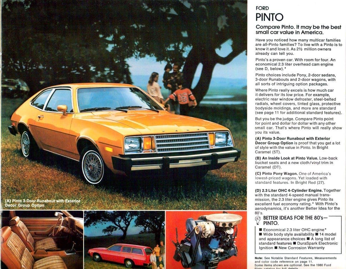 1980 Pinto car