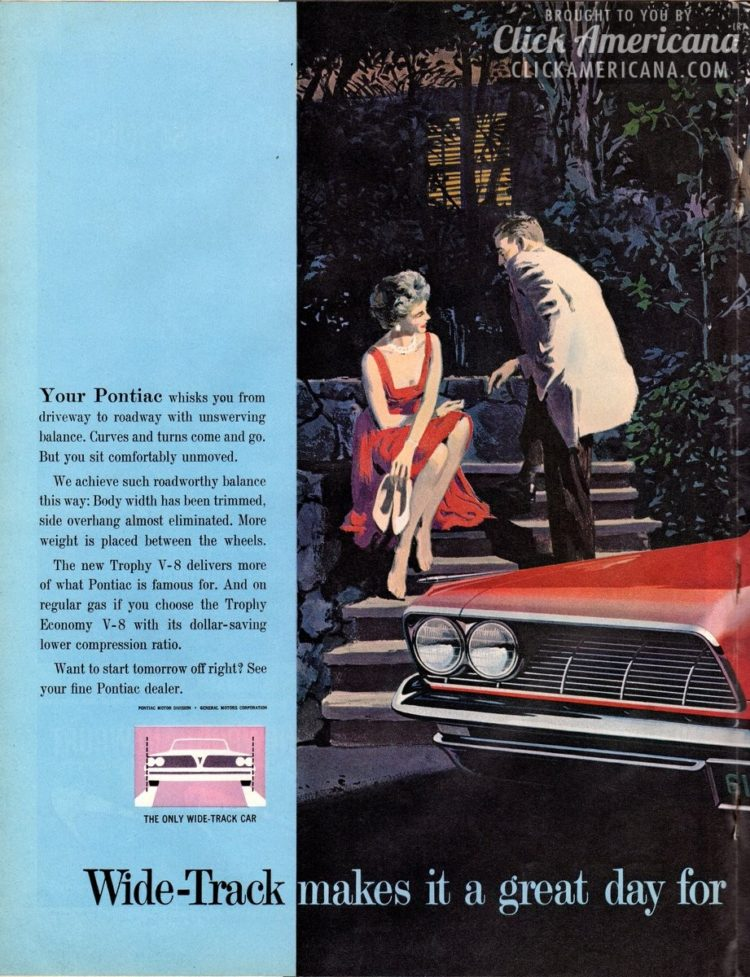 Drive to the tune of a Wide-Track Pontiac Bonneville Vista & Trophy V-8 (1961)