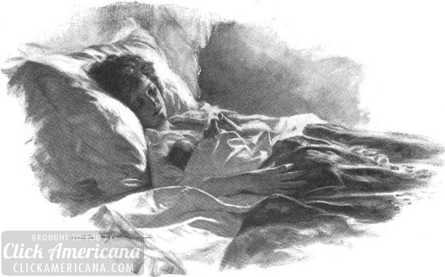postpartum-bed-1922-august-The_Delineator