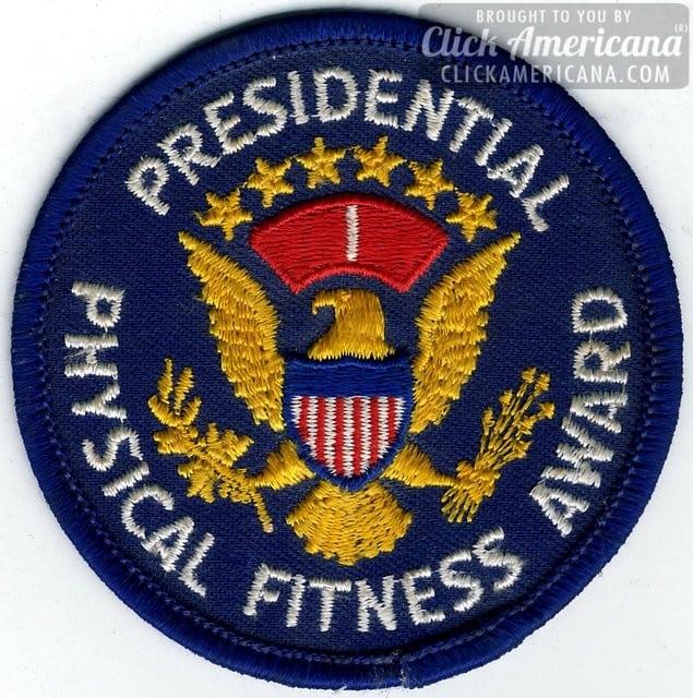 Presidential physical fitness award (1968-1981)