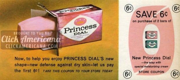 princess-dial-soap-aug-1964 -coupon
