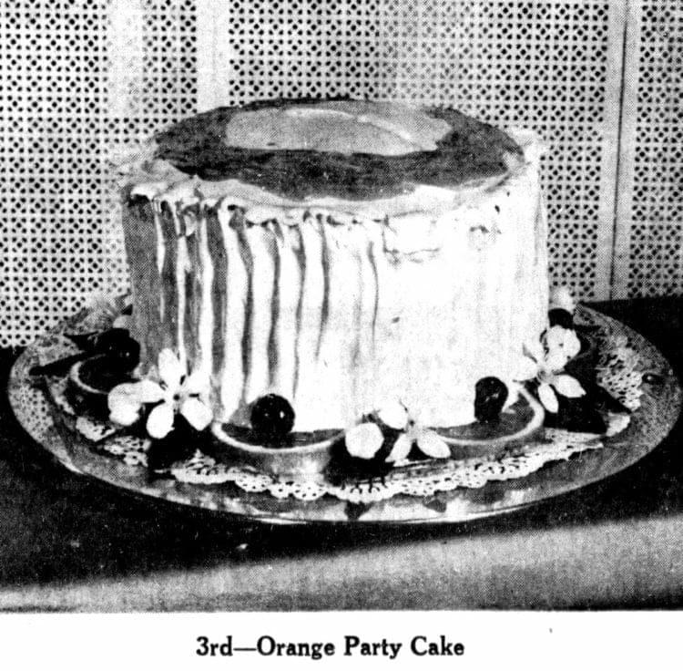Orange Party Cake recipe