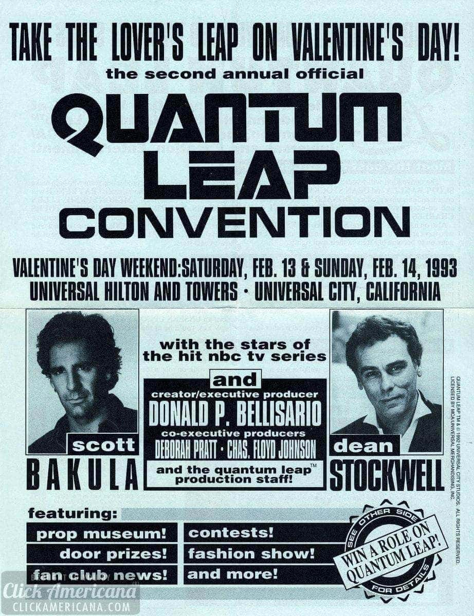 The official Quantum Leap convention (1993)