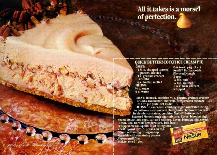 quick butterscotch ice cream pie recipe (2)