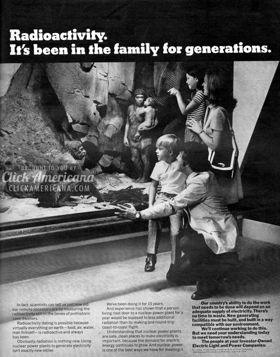 Radioactivity: It's been in the family for generations (1972)