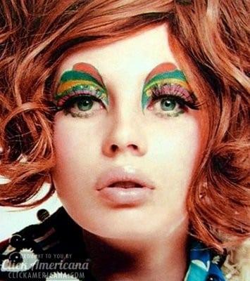 Rainbow eyes are the latest Hollywood fad (1955)