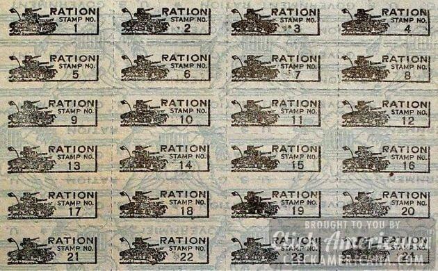 WW2 Ration book Q&A (1943) - Click Americana