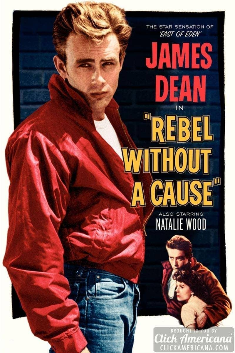 'Rebel Without a Cause' story of a youth's wild rage to live (1955)