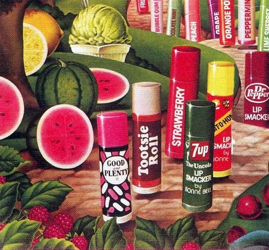 Lip Smackers from Bonne Bell (1973-1983)