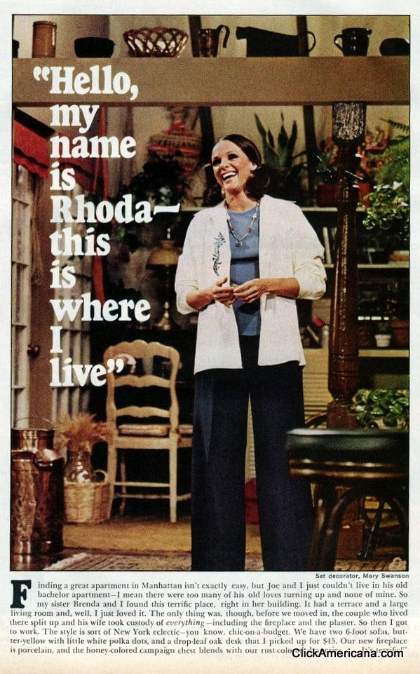 Inside Rhoda's place (1975) - Click Americana