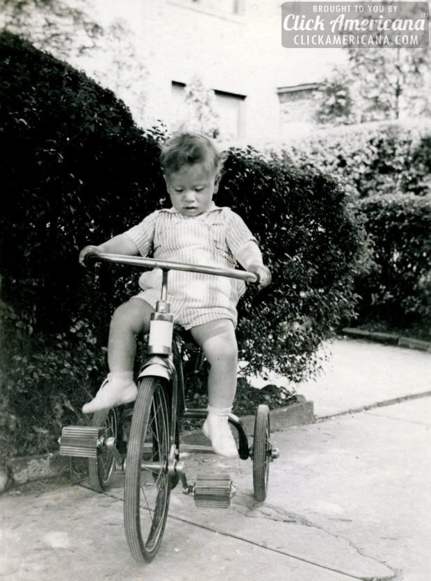 riding-a-trike-florida-1940s