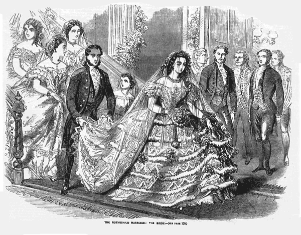 Bridal gowns & wedding attire (1857)