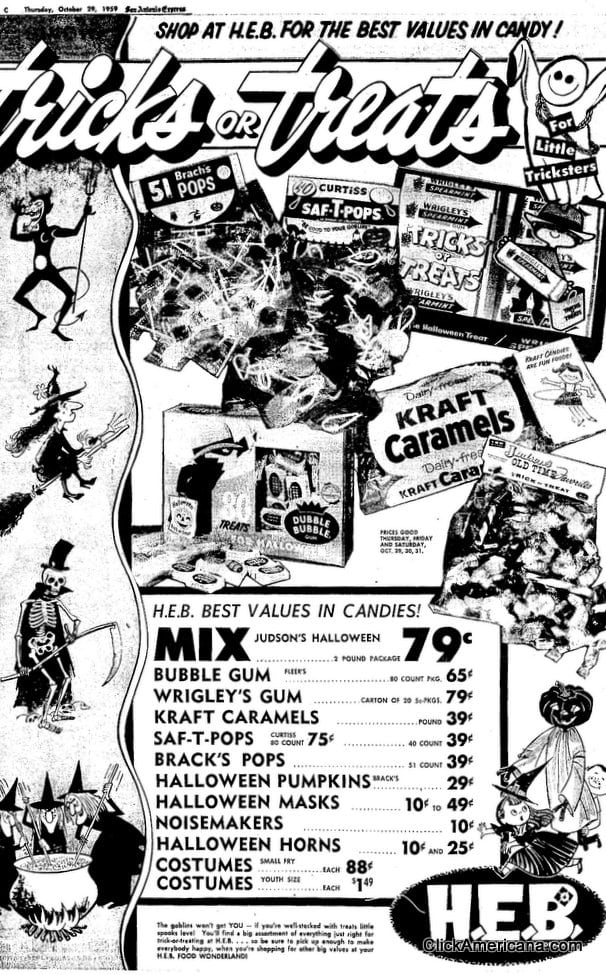 Tricks or treats for little tricksters (1959)