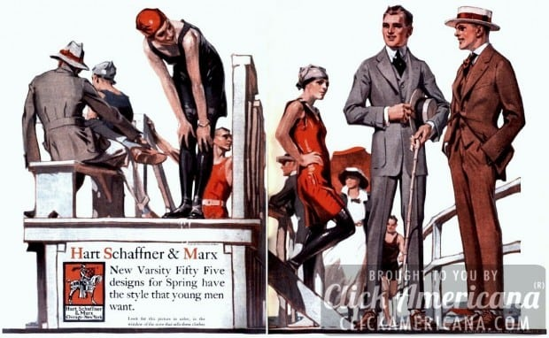 Men: Clothes to flatter your body type (1916)