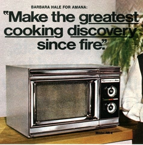 Introducing The Microwave Oven 1971 Click Americana