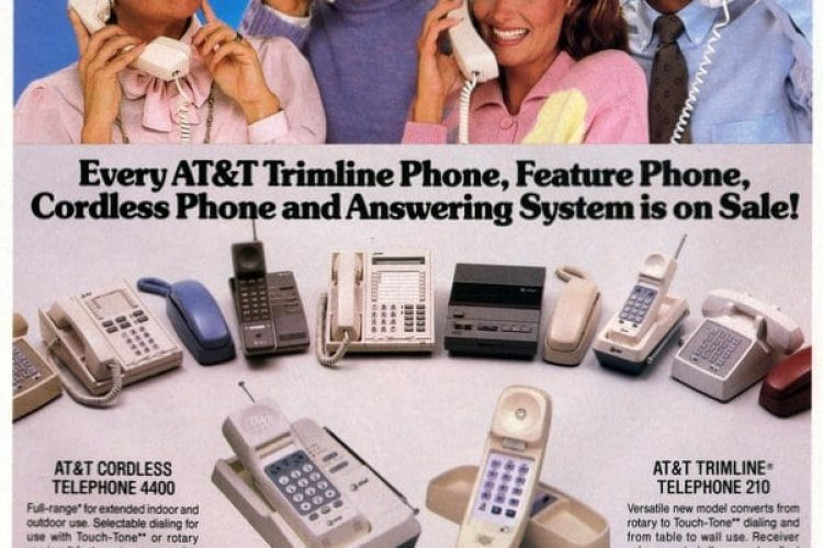 The latest and greatest telephones (1987) - Click Americana