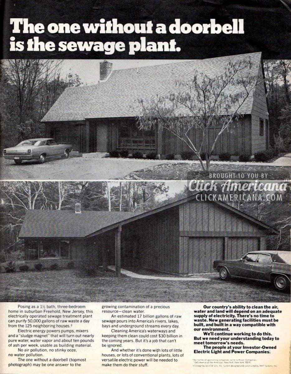 This suburban house hides something surprising  (1972)