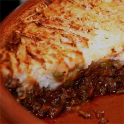 Shepherd's pie recipe (1912)