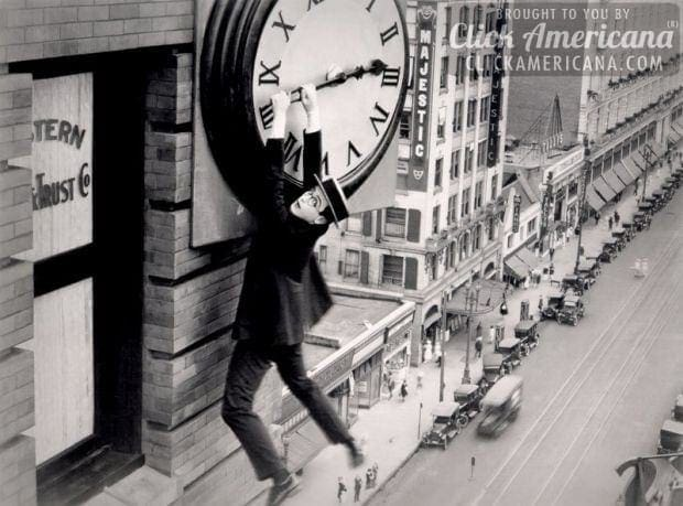 Are they real or fake? Silent movie stunts (1920)