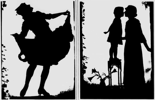 Silhouette photography: The latest fad (1916)