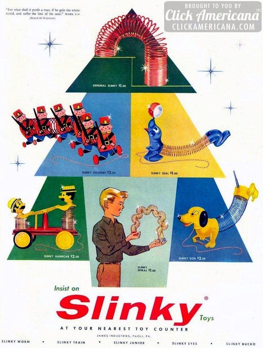 Original Slinky Slinky Seal Slinky Dog Amp More 1957