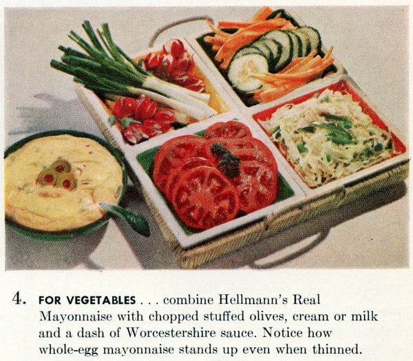 Cool summer smorgasbord party ideas (1955)