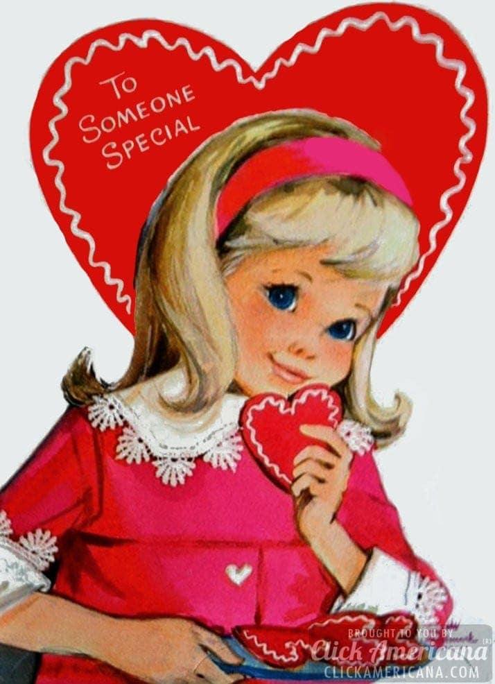 Hallmark Valentine cards: To someone special