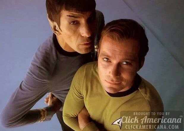 spock-kirk-star-trek-tos - Kirk and Spock