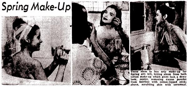 Spring makeup tips (1948)