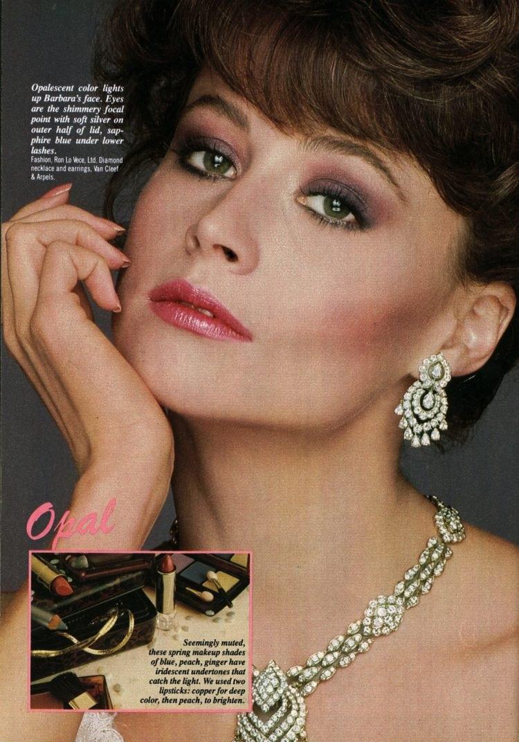 '80s eye makeup