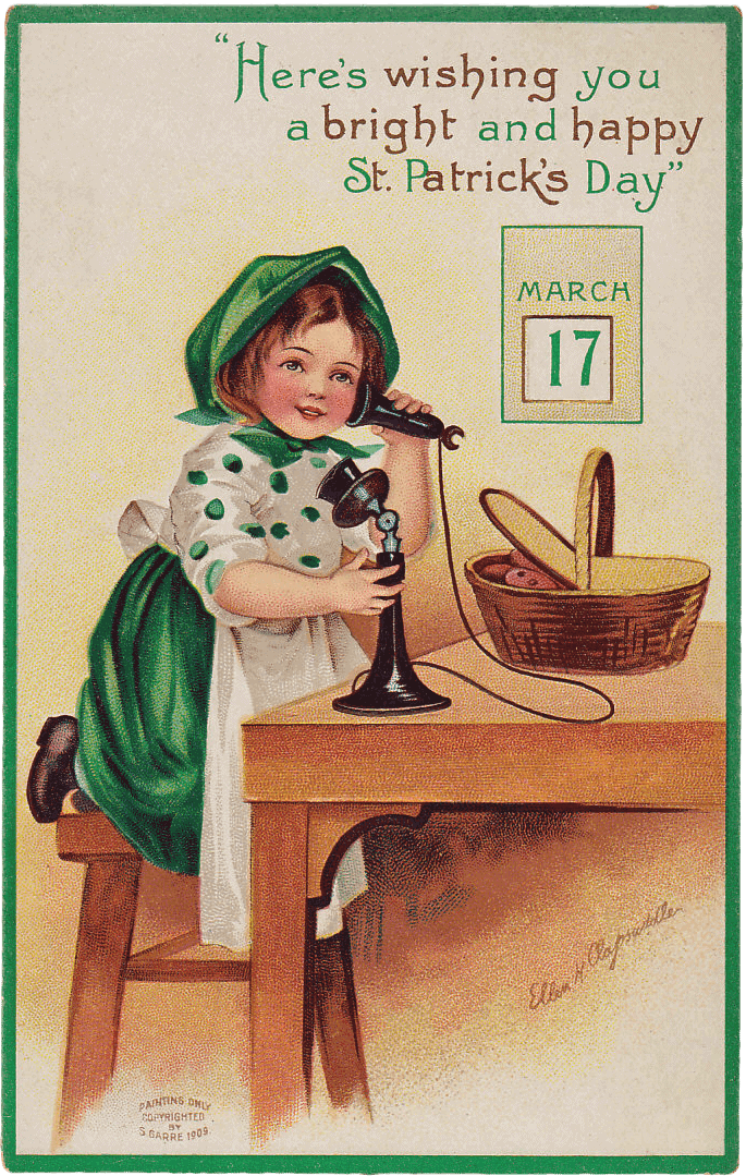 Here's wishing you a bright and happy St Patrick's Day