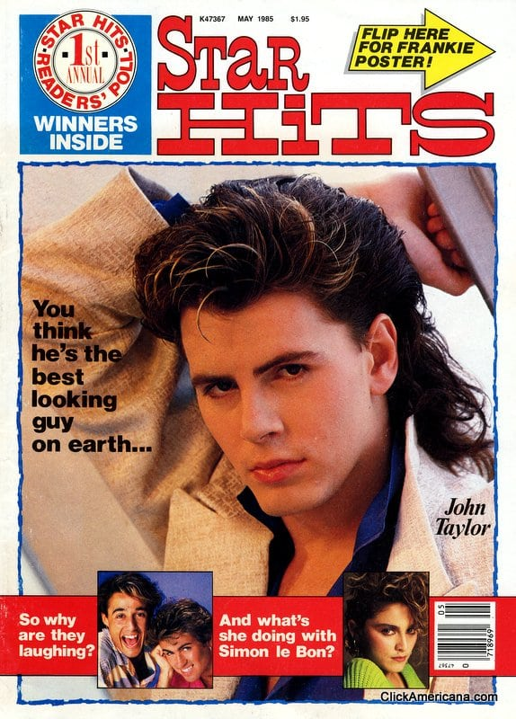 Star Hits magazine: May 1985: John Taylor of Duran Duran