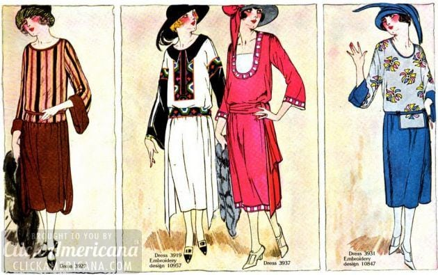 62 full-color summer fashions from 1922