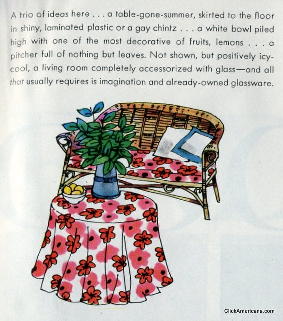 Swap Out Your Home Decor For Summer (1965)