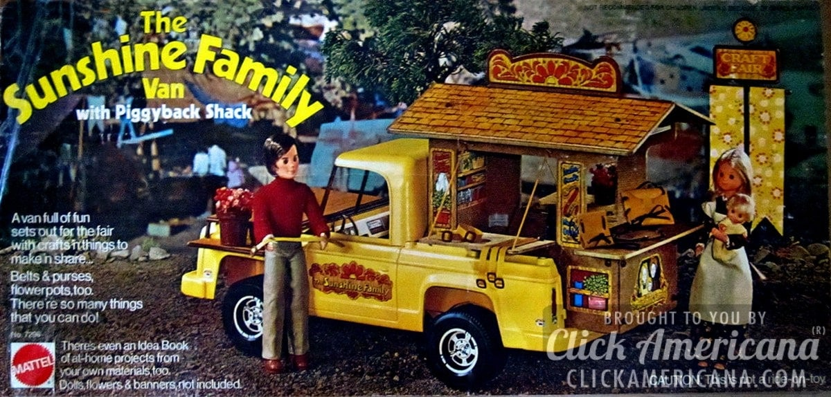 Ford Work Trucks The Sunshine Family play sets (1974-1978) - Click Americana