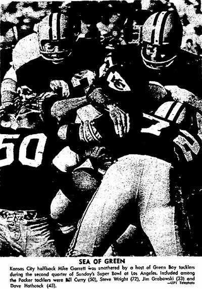 Super Bowl I: Green Bay Blasts KC (1967)