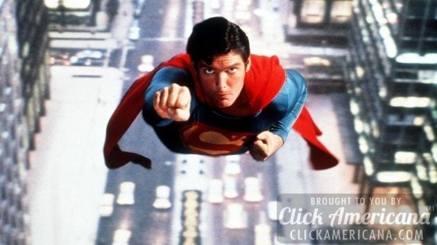 Christopher Reeve takes flight as Superman (1978)