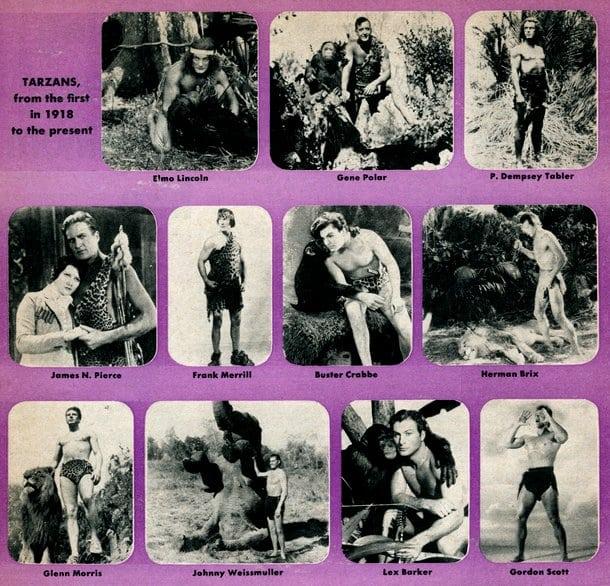 Movie Tarzans through the years (1955)