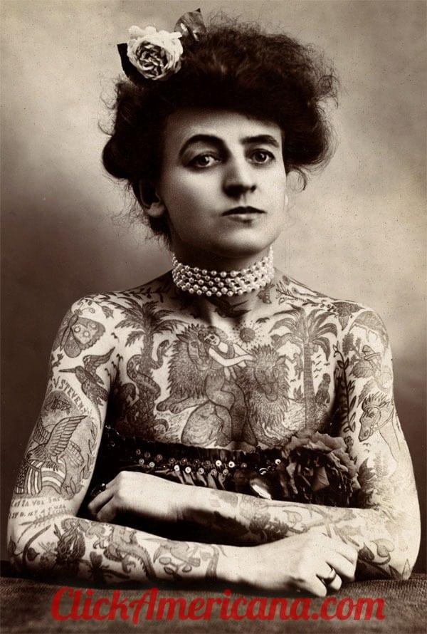 Meet the Tattooed Lady (1909)