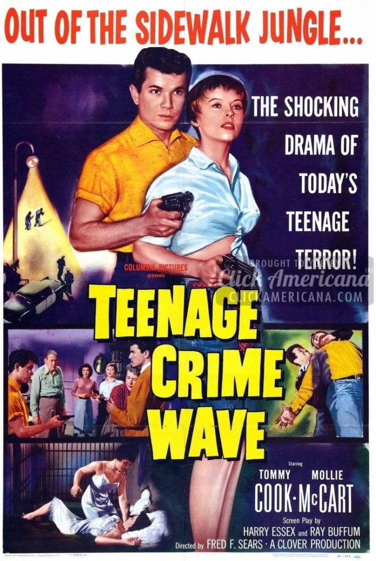 Teenage Crime Wave movie