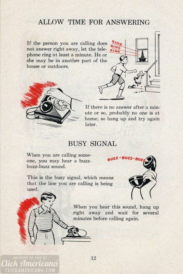 The Telephone & How We Use It (from 1951)