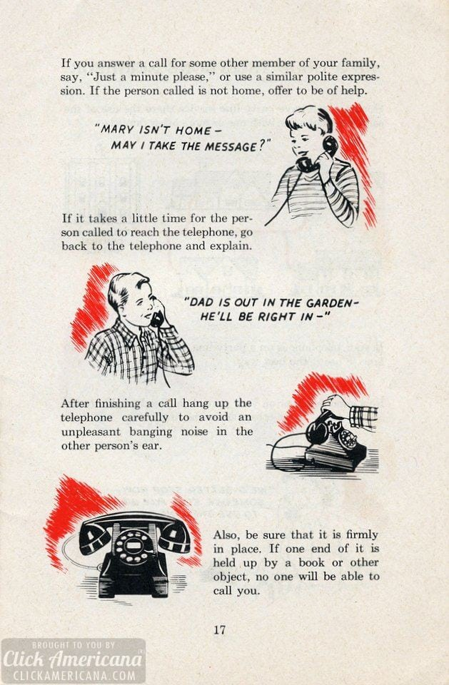 How to use a rotary-dial telephone