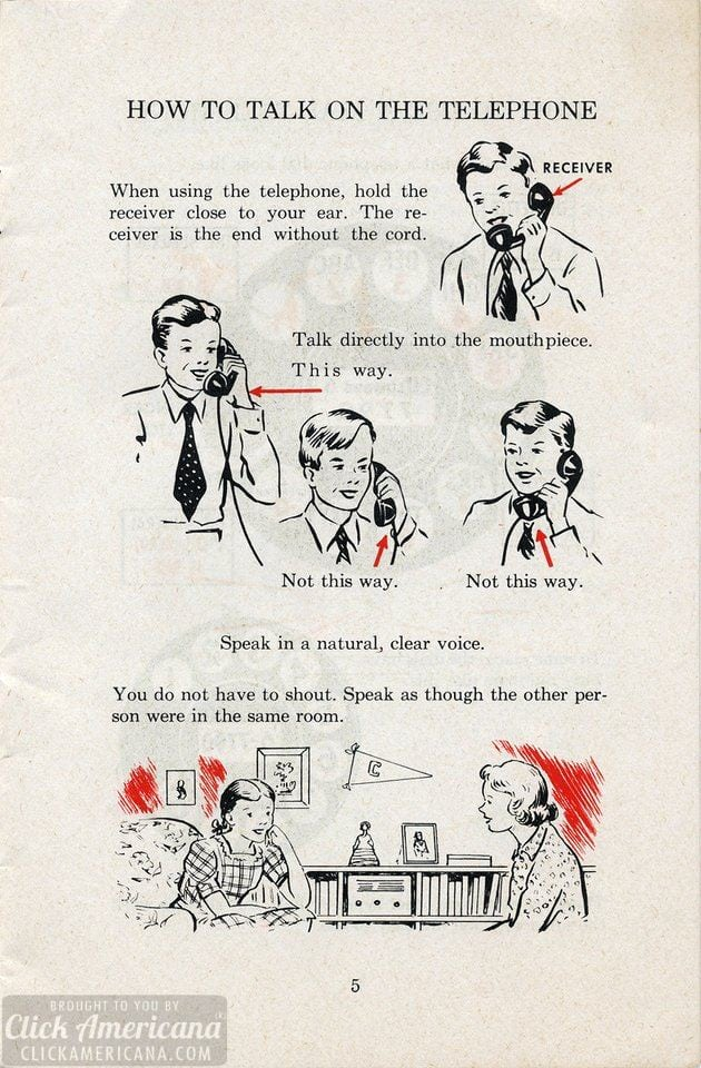 How to use a rotary-dial telephone: Top tips from the '50s