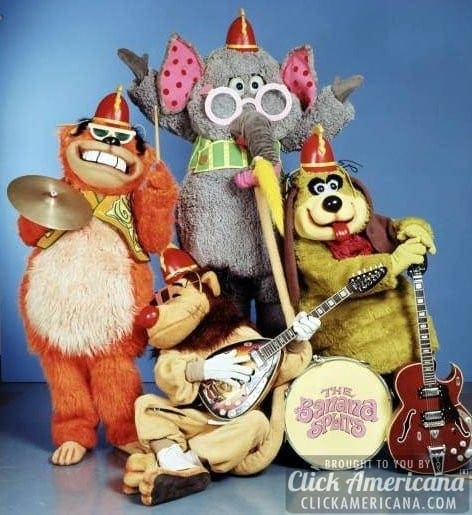 The Banana Splits Theme Song Amp Lyrics 1968 1970 Click