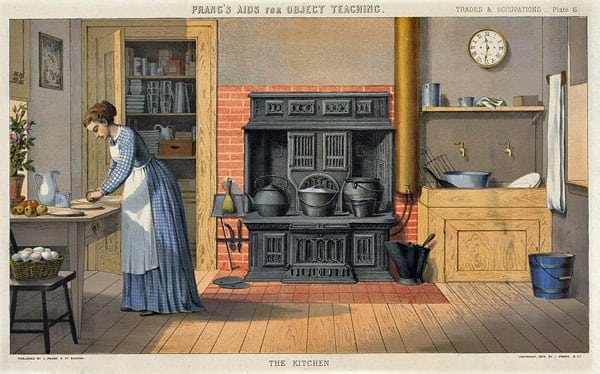 Benefits of cleaning your own kitchen (1881)