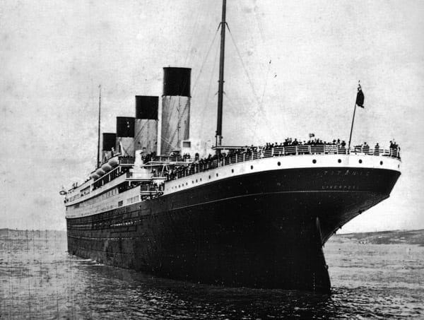 "The Titanic is ""unsinkable"" (1912)"