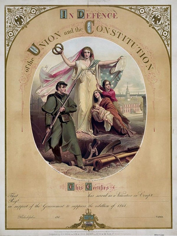 In defense of the Union and the Constitution (1861)