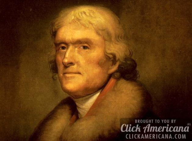 Jefferson's secret message to congress about Lewis & Clark (1803)