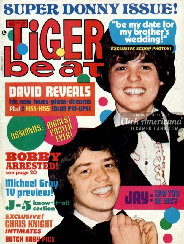 Tiger Beat (April 1972)