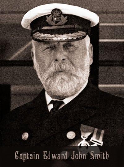 Captain Edward J Smith, commander of the Titanic